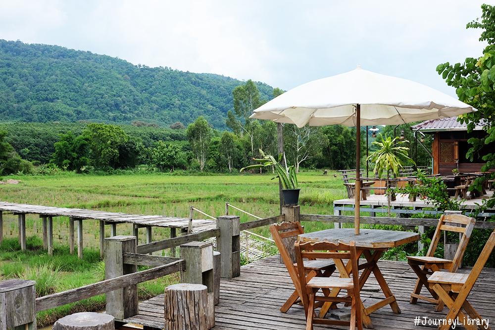 คาเฟ่ดีมีนา (CAFE' DE MENA) ร้านกาแฟวิวสวยบรรยากาศดี เที่ยวเลย เที่ยวภูเรือ Phu Ruea Loei Thailand