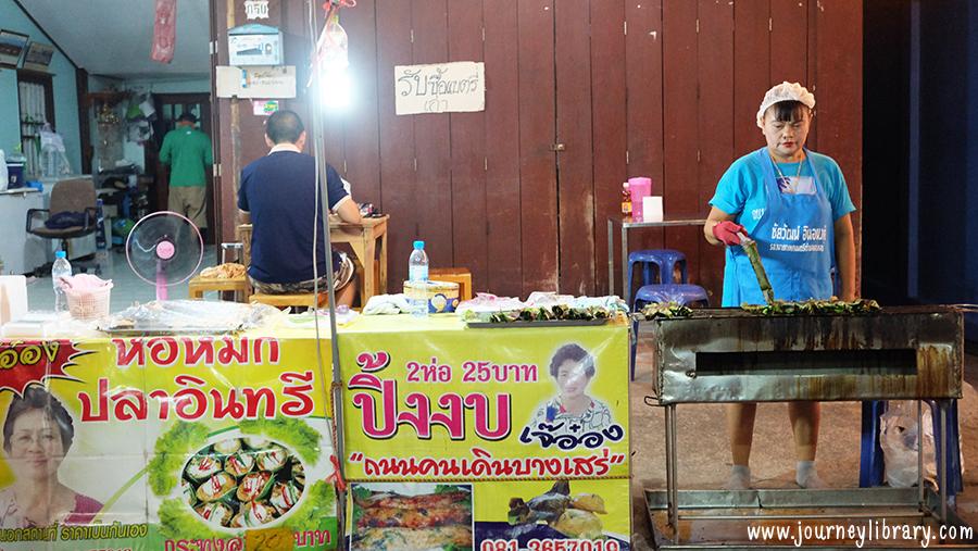 เที่ยวบางเสร่ เที่ยวสัตหีบ เที่ยวชลบุรี ตลาดถนนคนเดินบางเสร่ สัตหีบ ถนนคนเดินสายวัฒนธรรมบางเสร่ สัตหีบ ชลบุรี bang saray night market bang sare sattahip chon buri