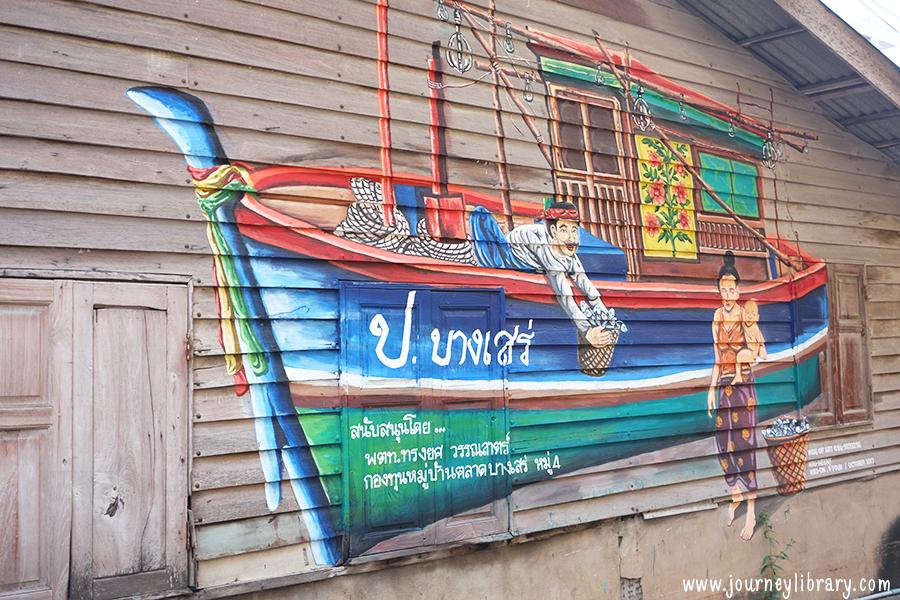เที่ยวบางเสร่ สัตหีบ ชลบุรี ตลาดถนนคนเดินบางเสร่ ถนนคนเดินสายวัฒนธรรมบางเสร่ ตลาดกลางคืนบางเสร่ bang saray night market bang sare sattahip chon buri